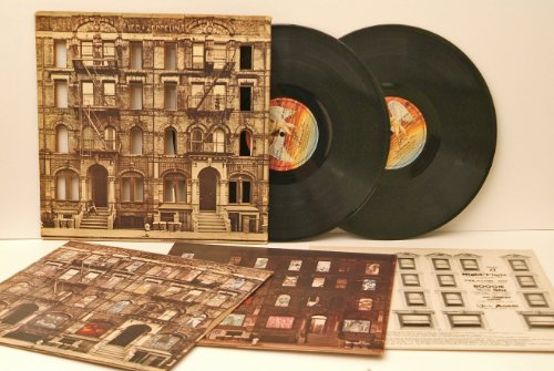 LED ZEPPELIN, Physical graffiti. DIE CUT GIMMICK SLEEVE. Top copy. First German pressing 1975. Swan Song.