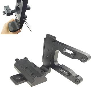 MILAEM Archery Bow Sight Scope Bracket Mount Red Dot Laser Sight Reflex Sight Fits Compund Recurve Bow