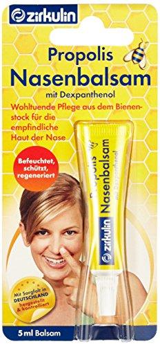 Zirkulin Propolis Nasenbalsam, 5er Pack (5 x 5 ml)