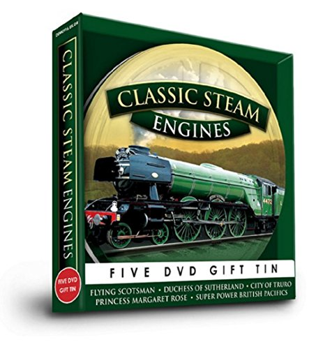Classic Steam Engines [5 DVD GIFT TIN] [UK Import]
