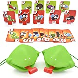 Tongue Game Tongue Catch Bugs Game, Lizard Tongue Eating Pest Board Games, Funny Family Desktop Game Interactive Toys Frog Card Toys for Christmas Birthday Gifts