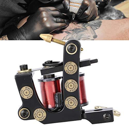 8 Wraps Professional Alloy,Tattoo Machine Copper Coils Tattoo Liner Machine Gun