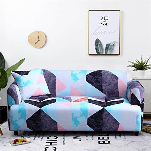 kengbi Funda de sofá elástica duradera y fácil de limpiar, funda elástica seccional para sofá de sala de estar, funda de sofá en forma de L, 1/2/3/4 plazas