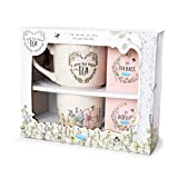 Me To You AGZ01094 One Gift Set-Teapot, Cup, Biscuits & English Breakfast Tea Bags
