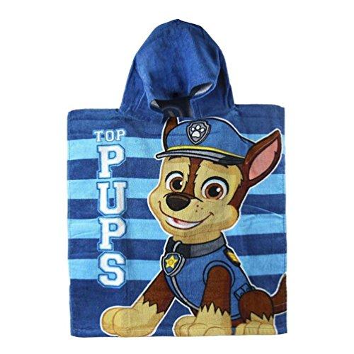 Poncho toalla Patrulla Canina Paw Patrol Top Pups