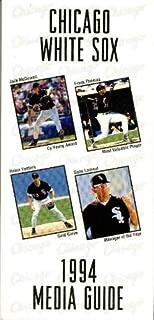 1994 Chicago White Sox Media Guide