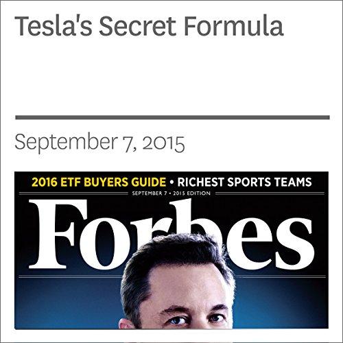 Tesla's Secret Formula audiobook cover art