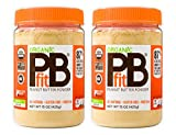 PBfit All-Natural Organic Peanut Butter Powder, 15 Ounce (Pack of 2)