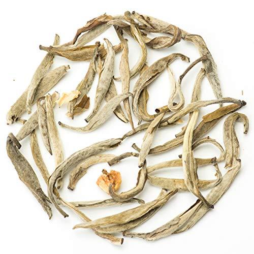 Teavivre® Jasmine Silver Needle White Tea (Mo Li Yin Zhen) Loose Leaf Chinese Tea - 3.5oz / 100g