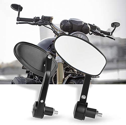 Lenkerendenspiegel Motorrad Aolead Motorrad Rückspiegel 7 8 22mm Kompatibal Für Atv Quad Scoter Blau Auto