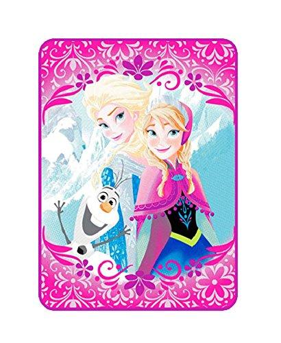 Disney Licencia- Manta Infantil Rachel 160x220, Cama de 90.(Frozen)