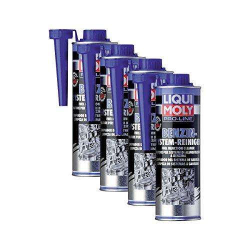 4x LIQUI MOLY 5153 Pro-Line Benzin-System-Reiniger Kraftstoff Additiv 500ml