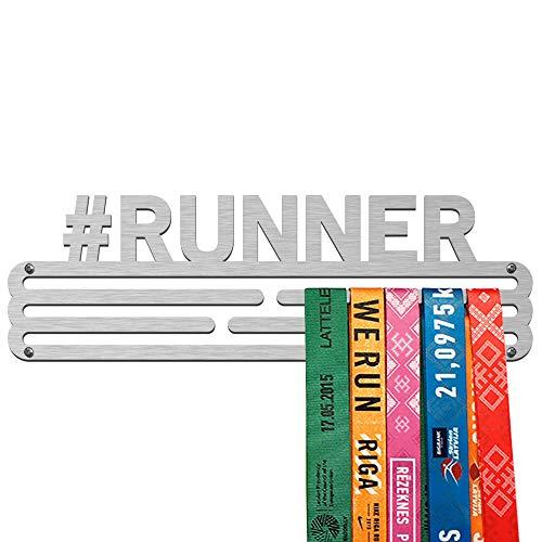 United Medals #Runner Colgador de medallas   Medallero Acero   Medal Holder dispaly Hanger   Medalla Percha (30 medallas)