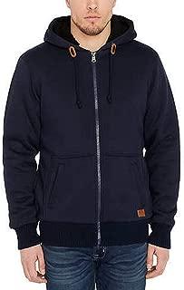 Men's Sherpa Lined Hoodie (Variety) (M, Blue)