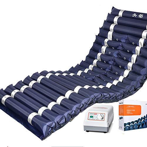 CYYYY Anti-Dekubitus-Luftmatratze, Premium-Wechselluftdruck Matratze passt Standardgröße Krankenhausbett mit Pumpe
