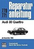 Audi 80 Quattro. Ab November 1982