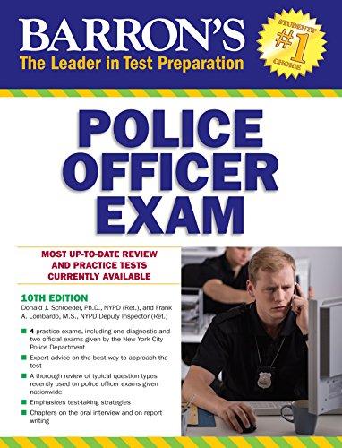 Police Officer Exam (Barron