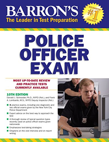 Police Officer Exam (Barron's Test Prep)