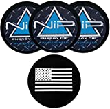 Nip Energy Dip Wintergreen Ice 3 Cans with DC Crafts Nation Skin Can Cover - US Flag