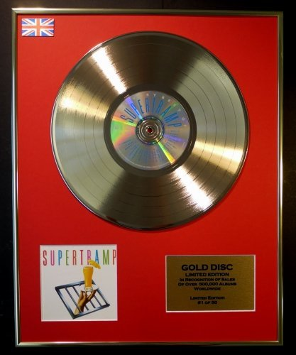 SUPERTRAMP/Cd Disco de Oro Disco Edicion Limitada/COA/