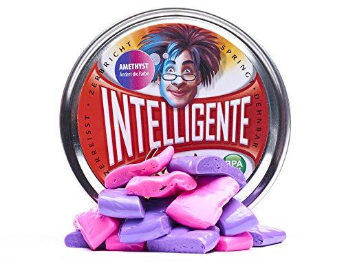 Intelligente Knete Ändert die Farbe (Amethyst) BPA- und glutenfrei