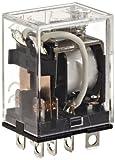 Omron LY2-DC24 General Purpose Relay, Standard Type, Plug-In/Solder Terminal, Standard Bra...