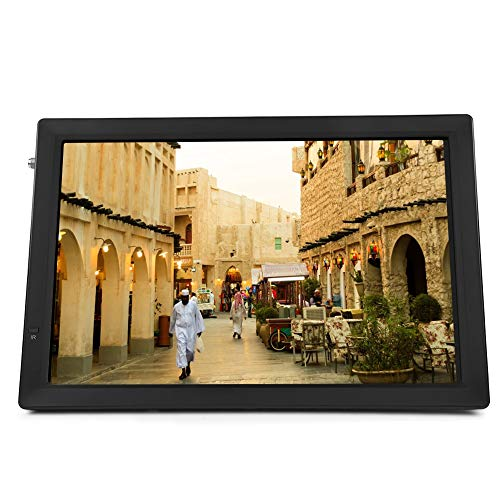 Digital TV,14 Inch ATSC Portable Widescreen Digital Television 1080P HD HDMI Video Player with USB/Memory/MMC Card Slot,1800Mah Battery,Antenna,Remote Control,for Kitchen/Car/Camping