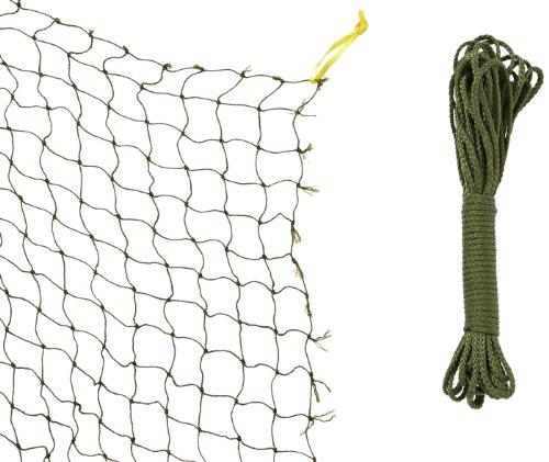 TRIXIE Red protección, con Hilo Metálico, 2 x 1.5 m, Oliva-Verde, Gato ✅