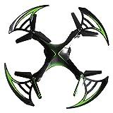 Xianxian88 Control Remoto Drone RC Quadcopter w cámara HD, 2.4 GHz 4-CH w giroscopio, 360 Grados Volteretas, múltiples direcciones de Vuelo, Larga Distancia y Tiempo