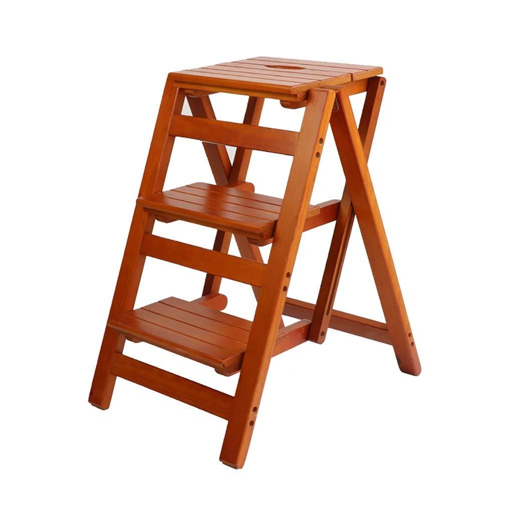 QQXX Pasos prácticos de Madera Escalera de 2 escalones Taburete de Cocina Plegable Herramientas de jardinería doméstica (Color: A): Amazon.es: Hogar
