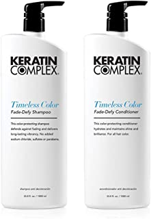 Keratin Complex Colour Therapy Timeless Fade Defy Duo Shampoo and Conditioner 980ml