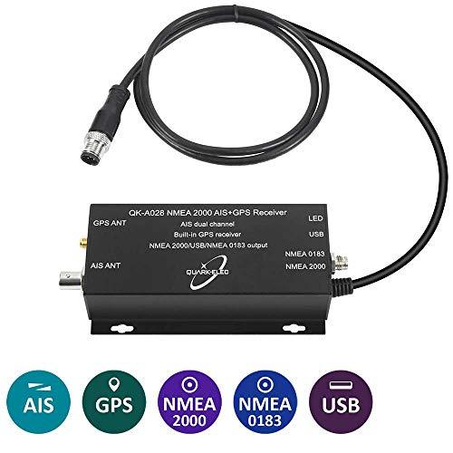 Quark-elec QK-A028 AIS Receiver + NMEA 2000 Konverter + GPS