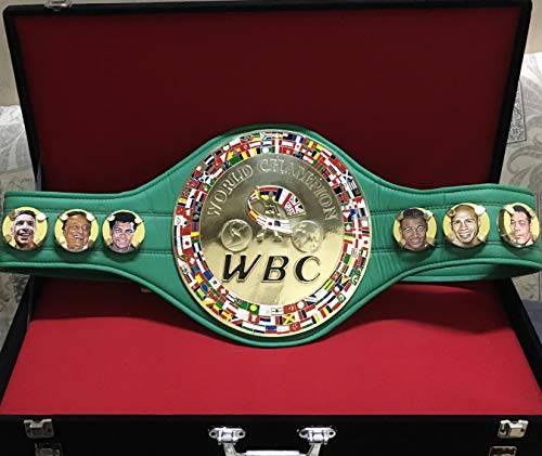 Wagsam Sports - Cinturón de Boxeo para Adulto sin Correa