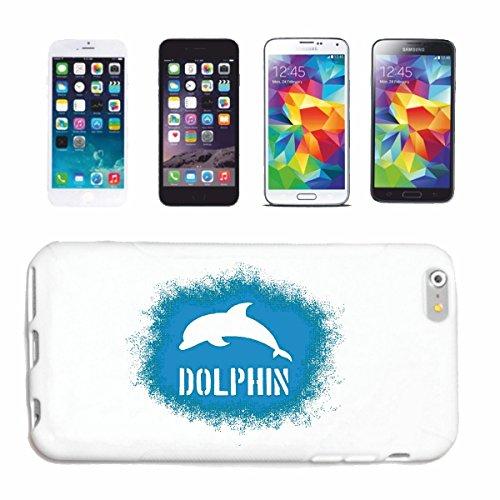 Reifen-Markt Hard Cover - Funda para teléfono móvil Compatible con Apple iPhone 6+ Plus dophin DELFÍN DELFÍN Flipper MAR MEDITERRÁNEO