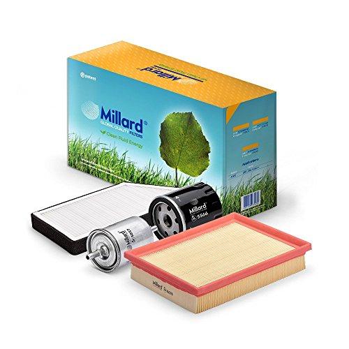 Millard Filters MZ-1746 Kit de Filtros para Automóviles, 35.5 x 19 x 16.5 cm