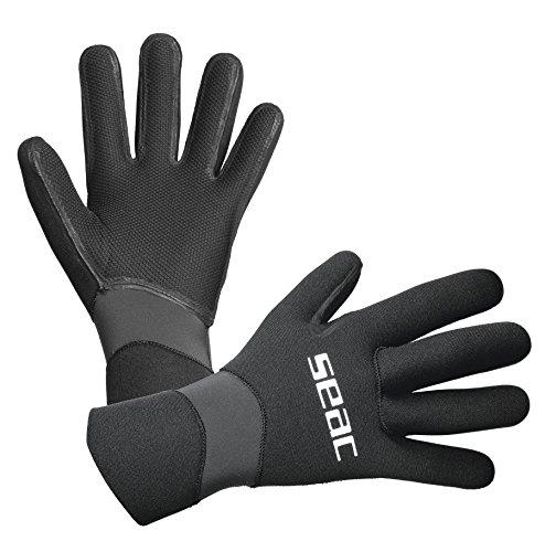 SEAC Snug Dry 3 Guantes Unisex - Adulto, Negro, S