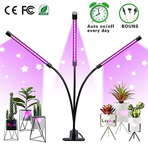 Grow Light, LED Grow Lights for Indoor Plants, Lxyoug Stepless...