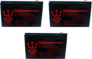 Terminator ES-32 12V 12Ah Replacement Electric Scooter Battery by Neptune - 3 Pack
