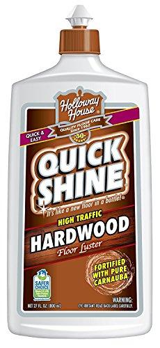 Quick Shine High Traffic Hardwood Floor Luster and Polish, 27 Fl. Oz - Pack of 2