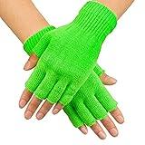 Boland 01904Guantes Fingerless, verde, talla única