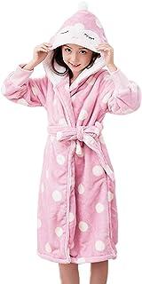 HAHABABY Accappatoio Morbido per Bambini Comodamente Unisex Notte Pigiama 100/% Cotone Vestaglia Morbida in Spugna Asciugamano