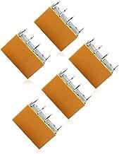 5pcs HK19F-DC12V-SHG DC 12V Coil DPDT 8Pin PCB Realplay Power Relay (Yellow)