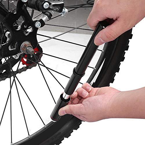 Alomejor Inflador de Bicicleta Mini Bomba de Bicicleta portátil MTB Bomba de Bicicleta de Carretera Inflador de Ciclismo con Bombas de Manguera de válvula