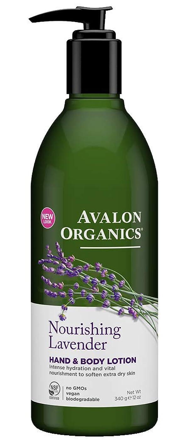 モバイル仲人変換するAvalon Organics Lavender Hand & Body Lotion 340g (Pack of 6) - (Avalon) ラベンダーハンド&ボディローション340グラム (x6) [並行輸入品]