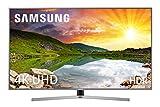 Samsung 55NU7475 - Smart TV de 55' 4K UHD HDR (Pantalla Slim, Quad-Core, 3 HDMI, 2 USB), Color Plata (Eclipse Silver)
