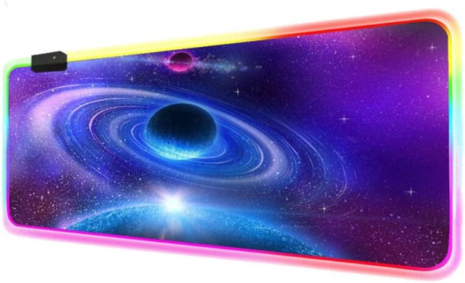 Mouse Pads Large Nebula Space New color Office RGB Gamer Game Keybo Ranking TOP9 Gaming