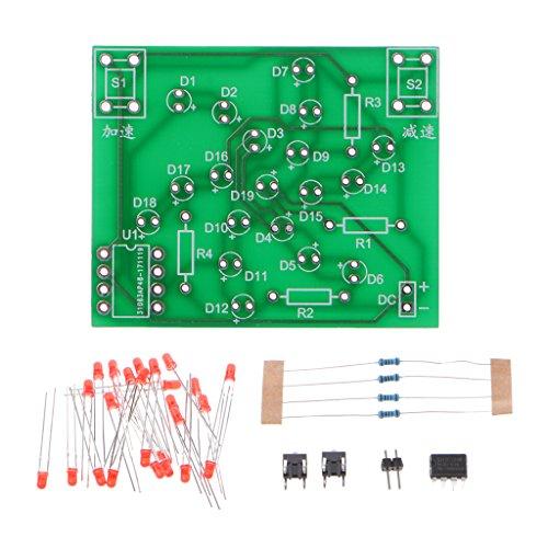 Selma DC 5 V knutselset met elektronische windmolen, PCB-plaat om te knutselen, grappige en praktische set