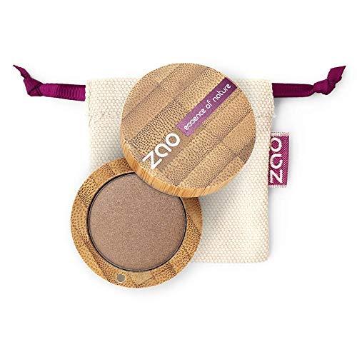 ZAO Pearly Eyeshadow 106 bronze braun Lidschatten schimmernd / Perlglanz in nachfüllbarer Bambus-Dose