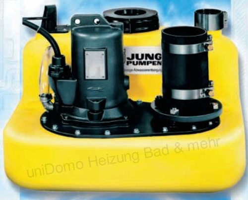Jung COMPLI 400 Hebeanlage / Haushaltspumpe 48m³/h