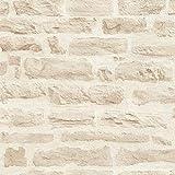 Papier peint intissé brique pierre imitation Tapisserie bureau 355803 35580-3...